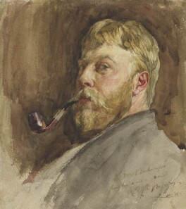 Edward John Gregory, by Edward John Gregory, 1879 - NPG  - © National Portrait Gallery, London