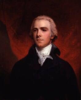 William Wyndham Grenville, 1st Baron Grenville, by John Hoppner, circa 1800 - NPG 318 - © National Portrait Gallery, London