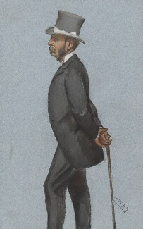 Algernon Greville, 2nd Baron Greville, by Sir Leslie Ward - NPG 2576