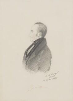 Charles Cavendish Fulke Greville, by Alfred, Count D'Orsay - NPG 3773