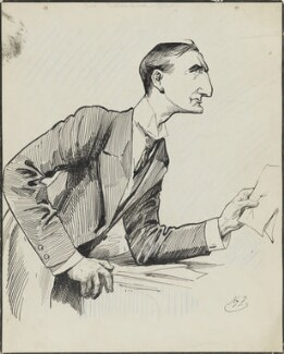 Edward Grey, 1st Viscount Grey of Fallodon, by Harry Furniss - NPG 3388