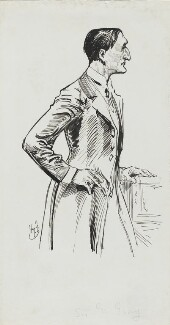 Edward Grey, 1st Viscount Grey of Fallodon, by Harry Furniss - NPG 3578