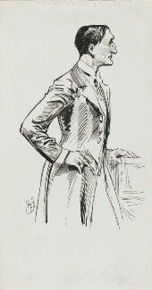 Edward Grey, 1st Viscount Grey of Fallodon, by Harry Furniss, 1880s-1900s - NPG 3578 - © National Portrait Gallery, London