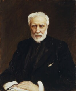 Sir George Grey, by Sir Hubert von Herkomer - NPG 1290