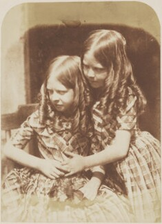 The Misses Grierson, by David Octavius Hill, and  Robert Adamson - NPG P6(173)