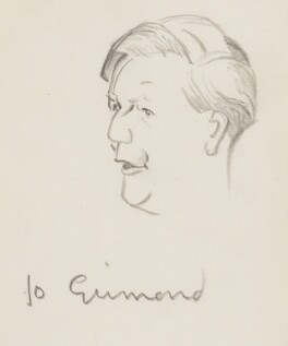 Jo Grimond, by Sir David Low - NPG 4529(154)