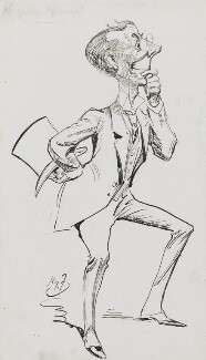 George Grossmith, by Harry Furniss - NPG 3456