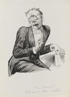 George Grossmith, by Harry Furniss - NPG 3457