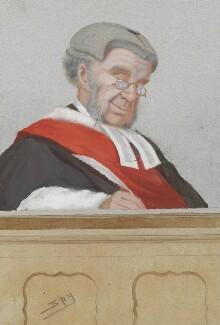 Sir William Robert Grove, by Sir Leslie Ward - NPG 2717