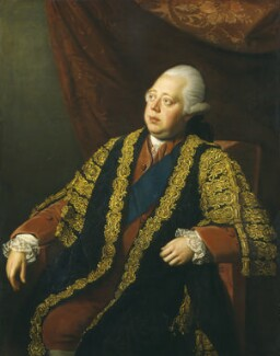 Frederick North, 2nd Earl of Guilford, by Nathaniel Dance (later Sir Nathaniel Holland, Bt) - NPG 3627