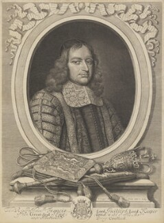 Francis North, 1st Baron Guilford, by David Loggan - NPG 632