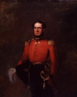 John Gurwood, by William Salter - NPG 3719