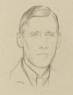 Stephen Lucius Gwynn, by William Rothenstein - NPG 4777