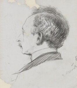 Arthur Hacker, by Sydney Prior Hall - NPG 4389