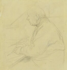 Sir Francis Seymour Haden, by William Rothenstein - NPG 3870