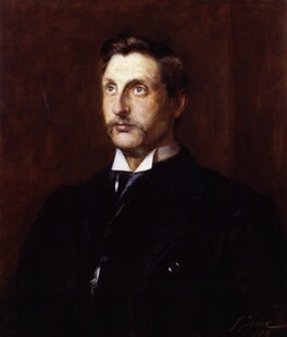 Sir (Henry) Rider Haggard, by John Pettie - NPG 2801