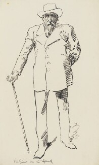 Sir (Henry) Rider Haggard, by Harry Furniss - NPG 3459