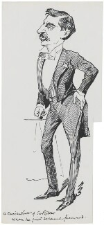 Sir (Henry) Rider Haggard, by Harry Furniss - NPG 3460