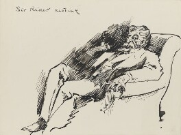 Sir (Henry) Rider Haggard, by Harry Furniss - NPG 3461