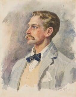 Douglas Haig, 1st Earl Haig, by (Katherine) Lucy Graham Smith, 1894 - NPG 1801a - © National Portrait Gallery, London