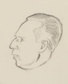(William) Malcolm Hailey, 1st Baron Hailey, by Sir David Low - NPG 4529(161b)