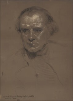 Samuel Wilberforce, by George Richmond, 1868 - NPG 4974 - © National Portrait Gallery, London