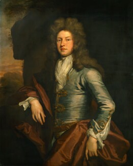 Charles Montagu, 1st Earl of Halifax, by Sir Godfrey Kneller, Bt - NPG 800