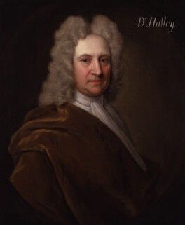 Edmond Halley, by Richard Phillips - NPG 4393
