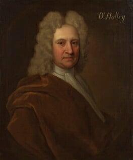 Edmond Halley, by Richard Phillips, before 1722 - NPG 4393 - © National Portrait Gallery, London