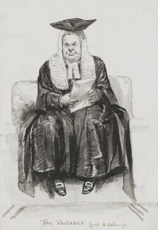 Hardinge Stanley Giffard, 1st Earl of Halsbury, by Harry Furniss - NPG 3394