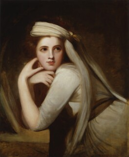 Emma Hamilton, by George Romney, circa 1785 - NPG  - © National Portrait Gallery, London