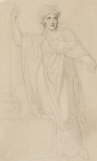 Emma Hamilton, by Richard Cosway, circa 1801 - NPG  - © National Portrait Gallery, London