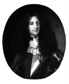 Sir George Hamilton, 1st Bt, by Unknown artist, based on a work of circa 1670 - NPG 1468 - © National Portrait Gallery, London