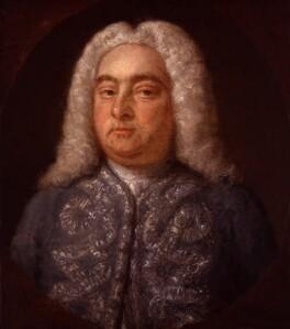 George Frideric Handel, by Francis Kyte, 1742 - NPG 2152 - © National Portrait Gallery, London