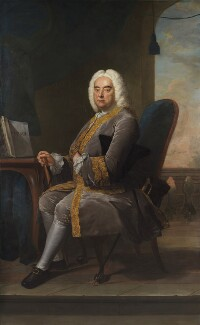 George Frideric Handel, by Thomas Hudson, 1756 - NPG 3970 - © National Portrait Gallery, London