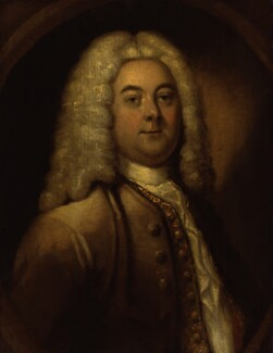 George Frideric Handel, by Unknown artist, 1740s - NPG 2151 - © National Portrait Gallery, London