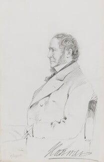 John Hanmer, 1st Baron Hanmer, by Frederick Sargent - NPG 1834(n)