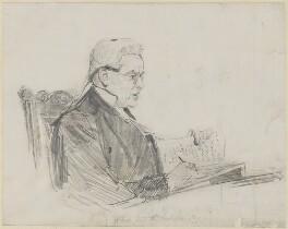 James Hannen, Baron Hannen, by Sydney Prior Hall - NPG 2232