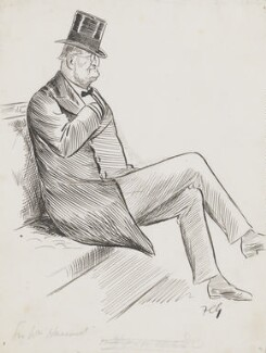Sir William Vernon Harcourt, by Sir Francis Carruthers Gould ('F.C.G.') - NPG 2844
