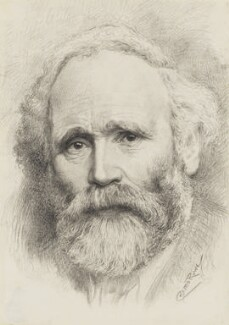 Keir Hardie, by Cosmo Rowe, after a photograph by  George Charles Beresford, 1905-1932, based on a work of 1905 - NPG 2542 - © National Portrait Gallery, London