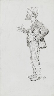 Keir Hardie, by Harry Furniss, before 1892 - NPG 3579 - © National Portrait Gallery, London