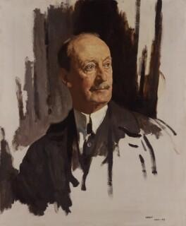 Charles Hardinge, 1st Baron Hardinge of Penshurst, by Sir William Orpen, 1919 - NPG 4179 - © National Portrait Gallery, London