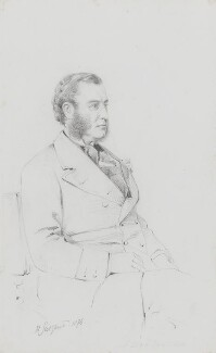 Charles Philip Yorke, 5th Earl of Hardwicke, by Frederick Sargent - NPG 1834(o)