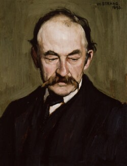 Thomas Hardy, by William Strang, 1893 - NPG  - © National Portrait Gallery, London
