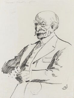 Thomas Hardy, by Harry Furniss - NPG 3463