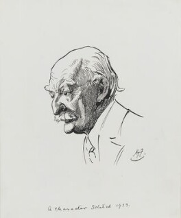 Thomas Hardy, by Harry Furniss - NPG 3581