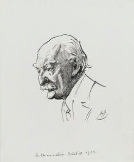 Thomas Hardy, by Harry Furniss, 1923 - NPG 3581 - © National Portrait Gallery, London