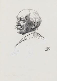 Thomas Hardy, by Harry Furniss - NPG 3582