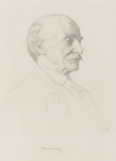 Thomas Hardy, by William Strang - NPG 1922