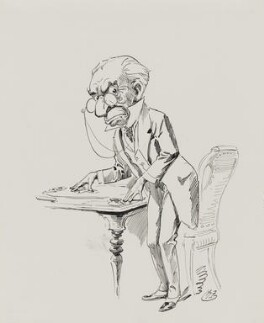 Sir John Hare, by Harry Furniss - NPG 4095(5)